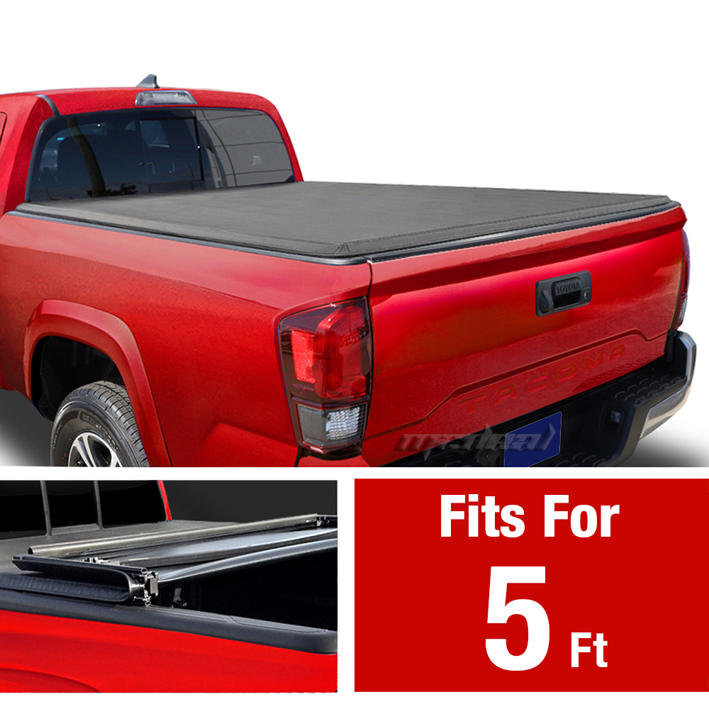 Premium Fits 16 17 Toyota Tacoma Double Cab 5ft 60in Bed