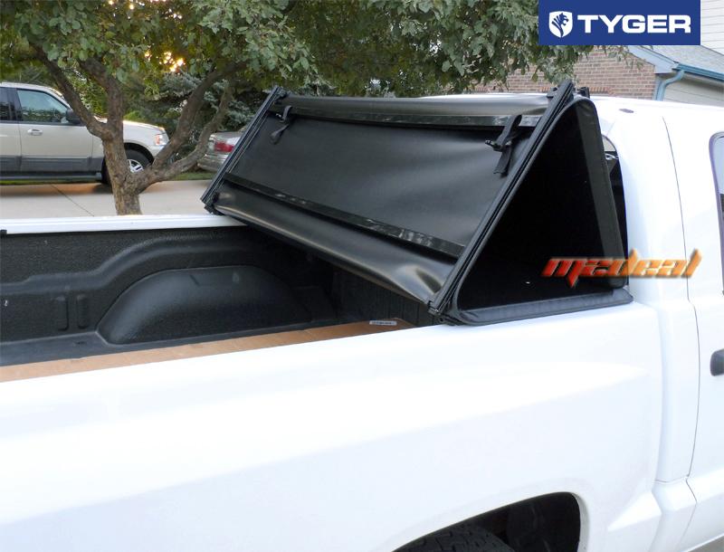 Tyger Tri Fold For 05 11 Dakota Quad Cab 06 08 Raider 5