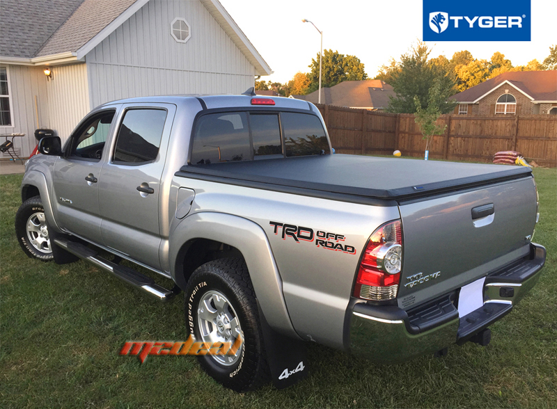 Tyger Tri Fold For 2005 2015 Toyota Tacoma 5ft 60in Short