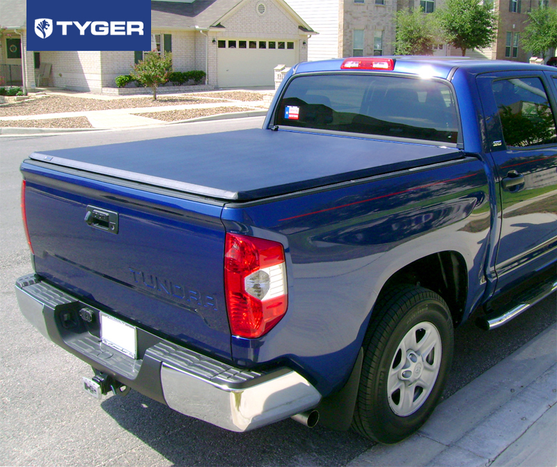 Tyger Tri Fold For 07 13 Toyota Tundra 5 5ft 66in Bed