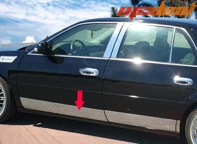 Tyger For 97 05 Buick Park Avenue Rocker Panel Stainless