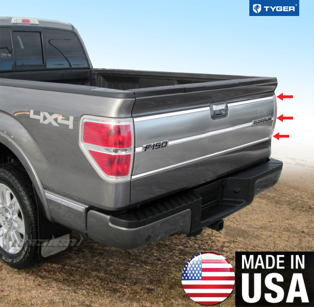 Tyger for 09 14 ford f150 tailgate insert platinum model for 05 f150 door panel removal