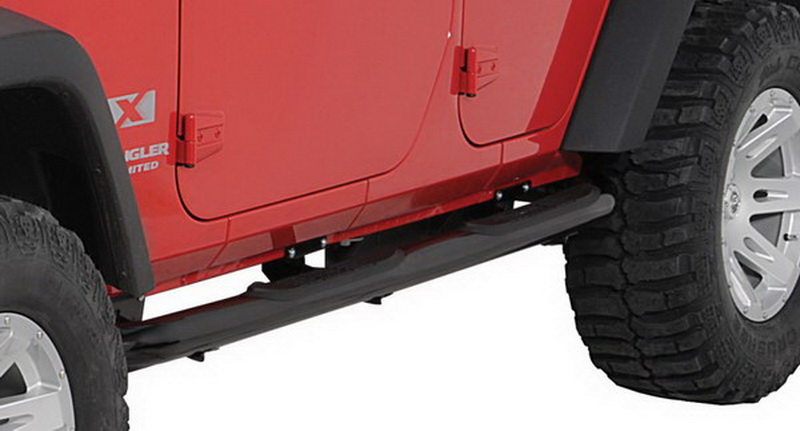 02 07 Jeep Liberty Without Mudflaps 3 Quot Side Armor Step