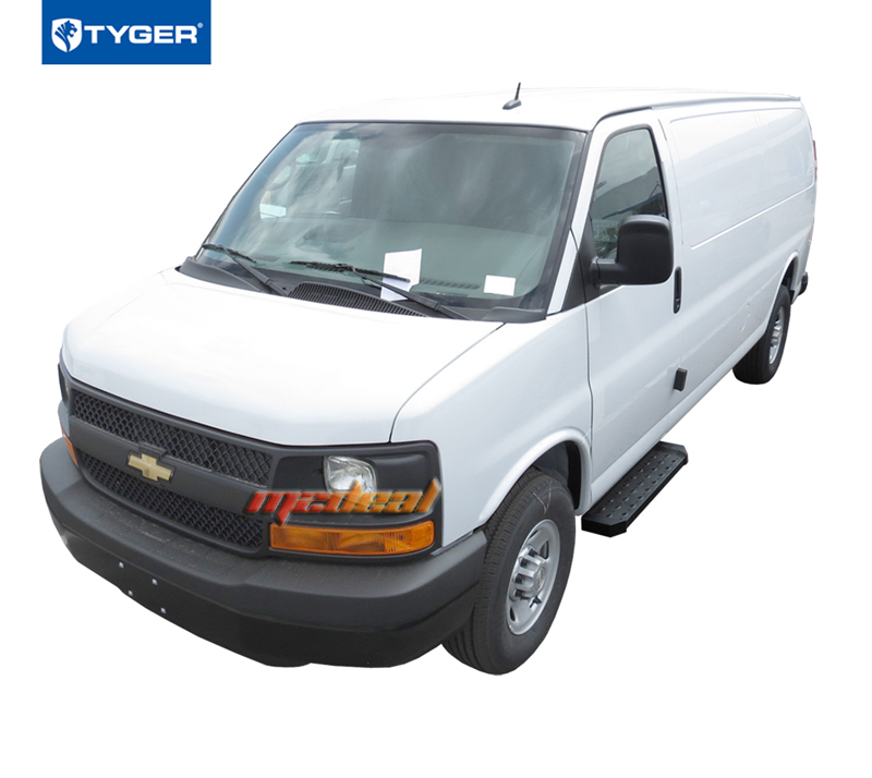 TYGER For 03-17 Express Van Running Boards(Driver Side 37
