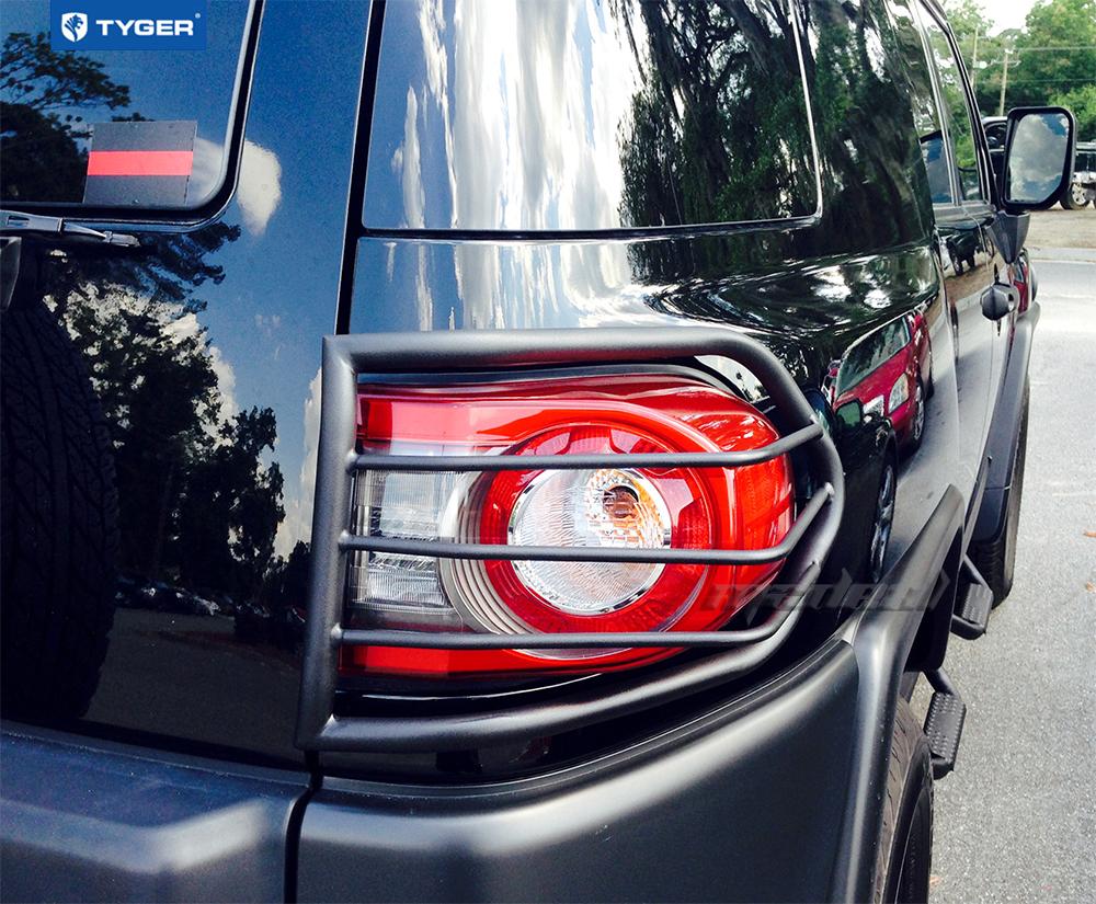 Tyger Custom Fit 07 14 Toyota Fj Cruiser 2pc Black Tail
