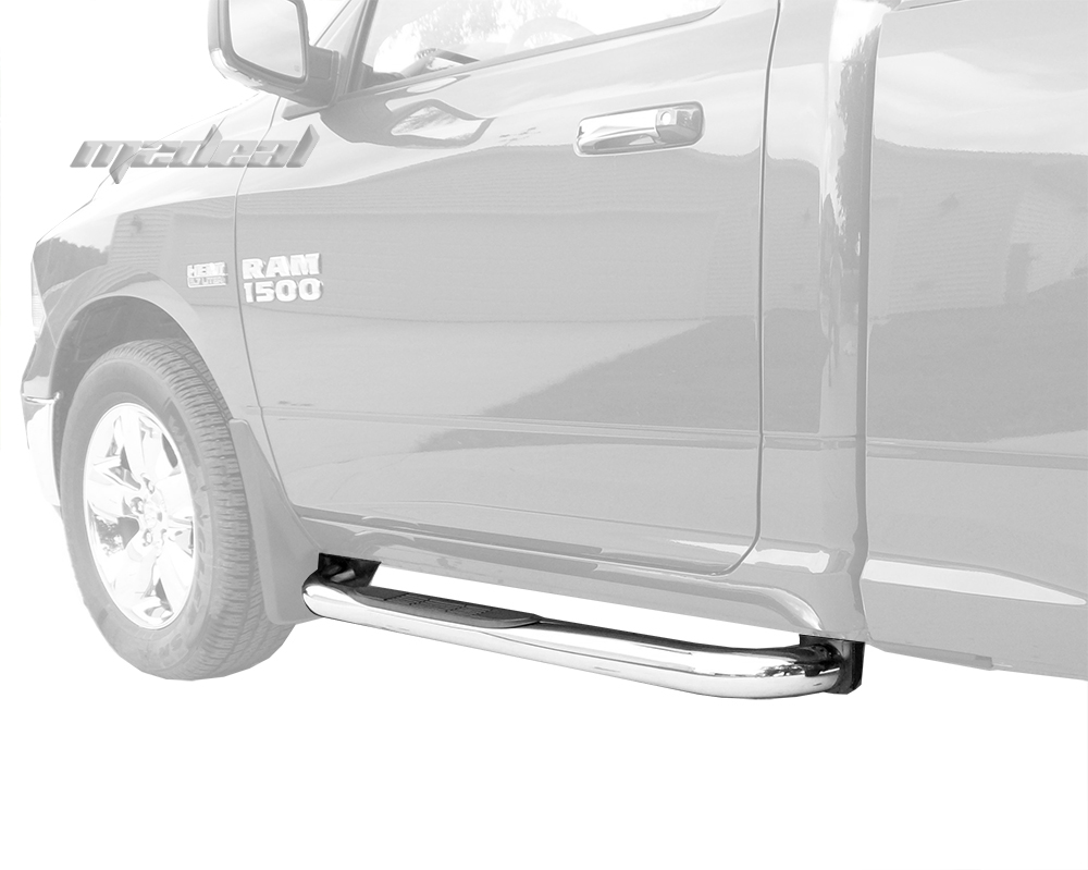 "2010 Dodge Ram 1500 Regular Cab Transmission: New 3"" Stainless Steel Step Nerf Bars Fit Dodge Ram 1500"