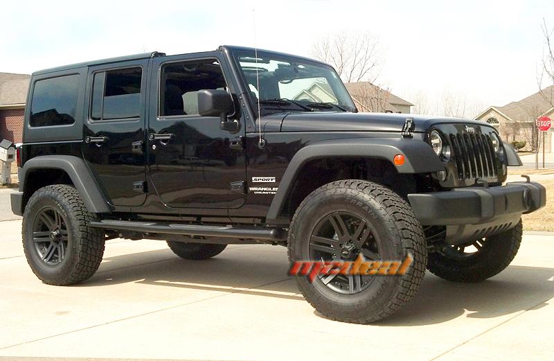 Smittybilt Nerf Bars Jeep Wrangler J0764 N Fab Black Wheel