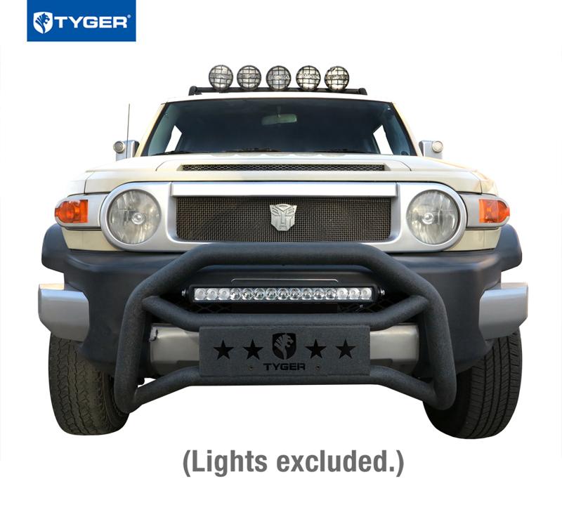 Tyger For 2007 2014 Toyota Fj Cruiser Textured Black Bull